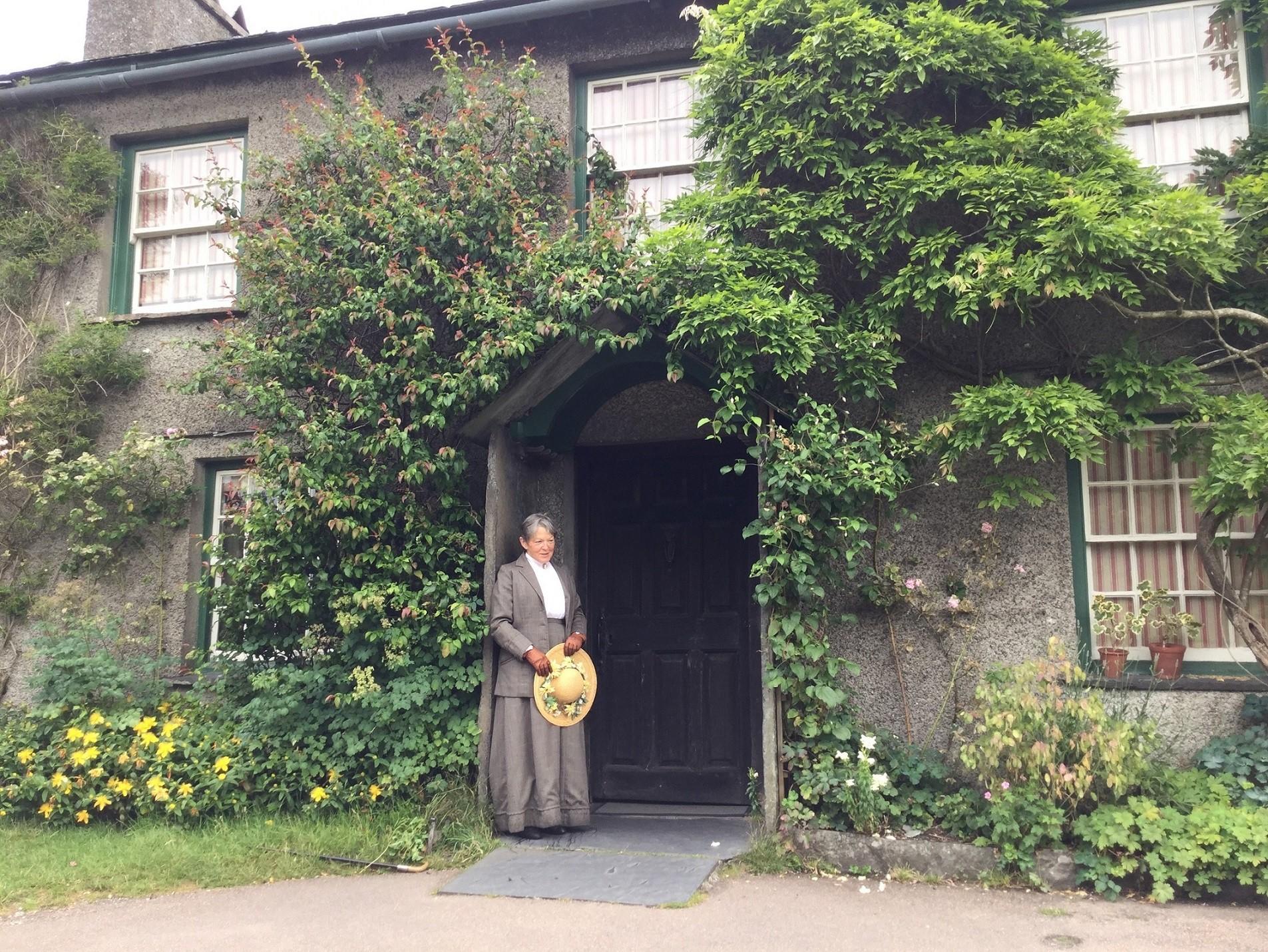 Hill Top, Judith Notley as Beatrix Potter